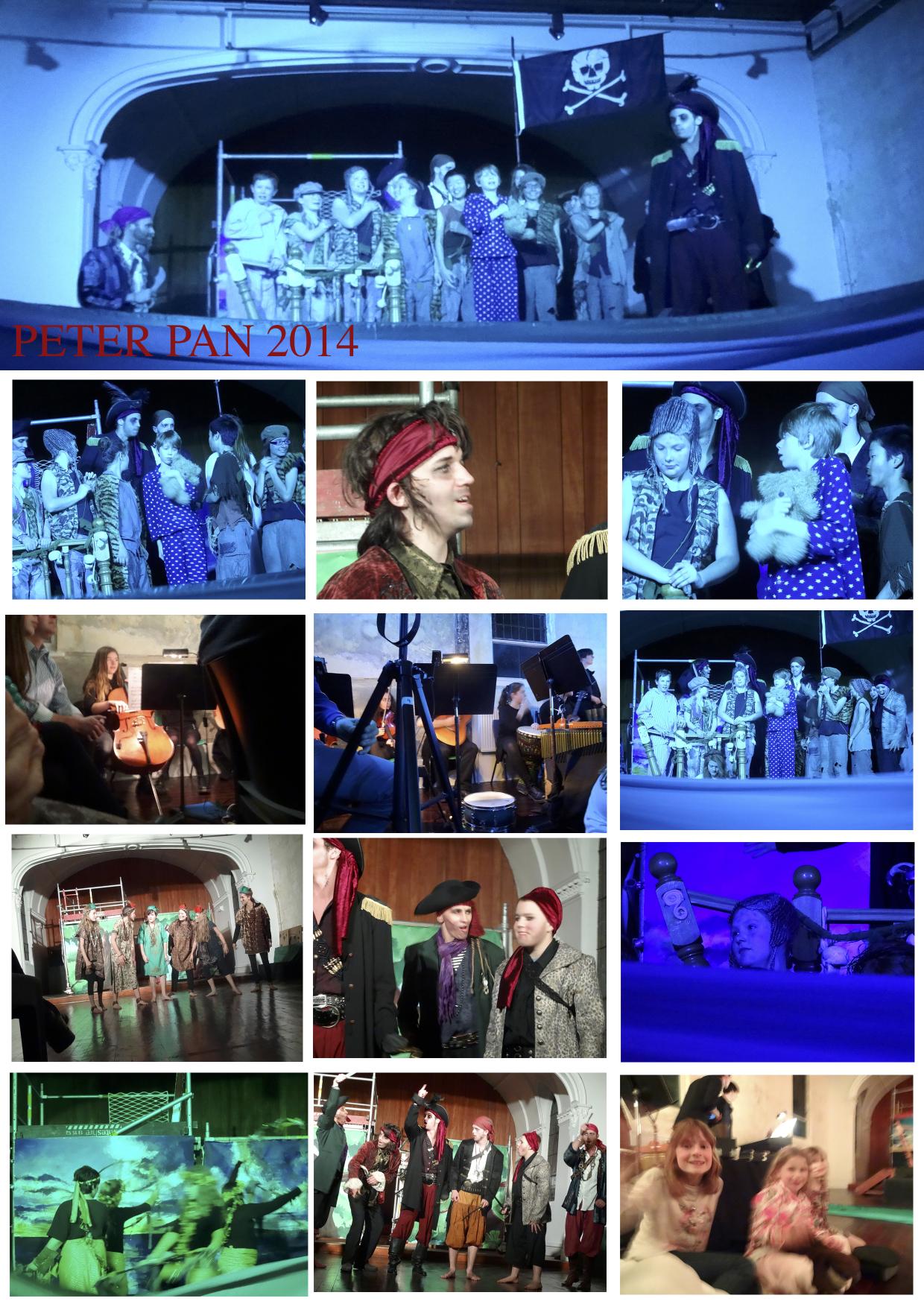 Peter pan collage3