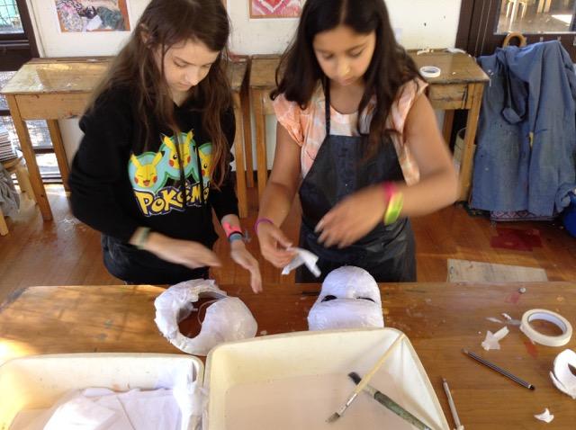 Lisa Roet preshil Mask Making