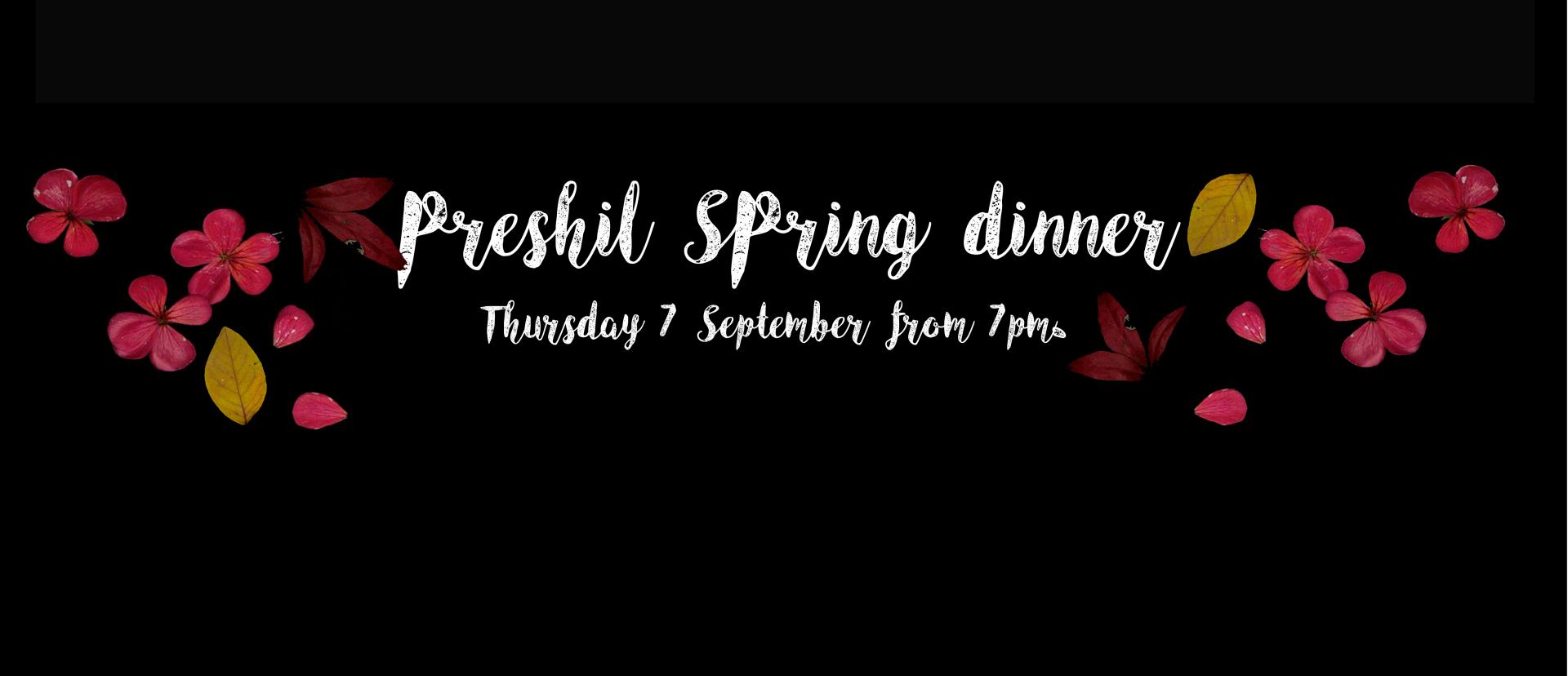 Spring Dinner Banner - Website