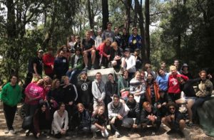 Year 11 & 12 Camp Group 2018