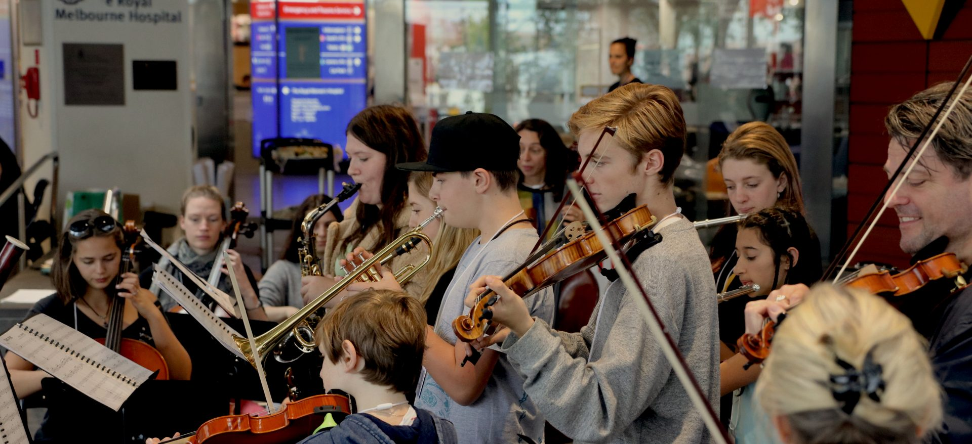 Music Students Perform at Royal Melbourne Hospital