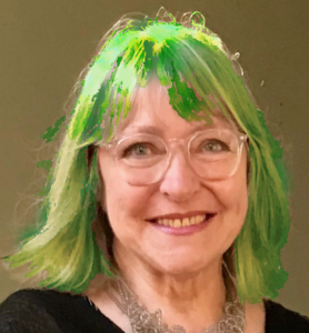 Marilyn Smith - Green Hair