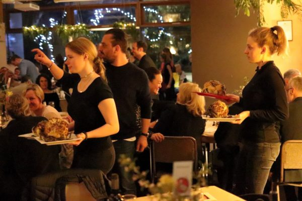 Preshil Spring Dinner - Serving